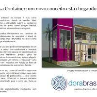 Casa Container: economia, versatilidade e sustentabilidade.